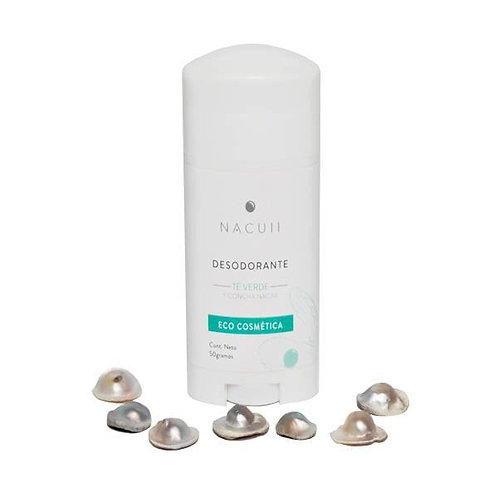 Desodorante en Barra de Té Verde y Concha Nácar 50g