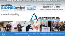 Check Out A&D at BIOMEDevice 2014!