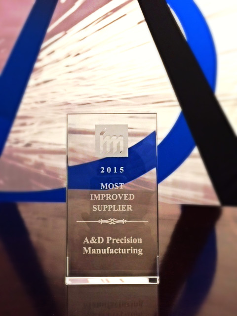 A&D is Proud to Announce that for the 4th Year in a Row A&D has Received an Award at the Ann