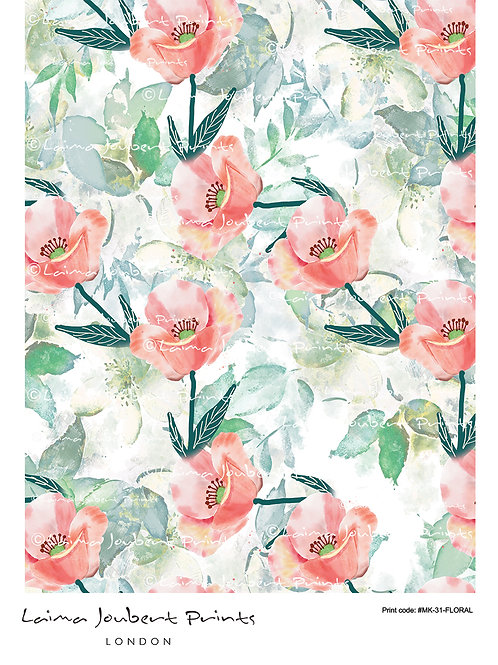 Pink Romantic Floral