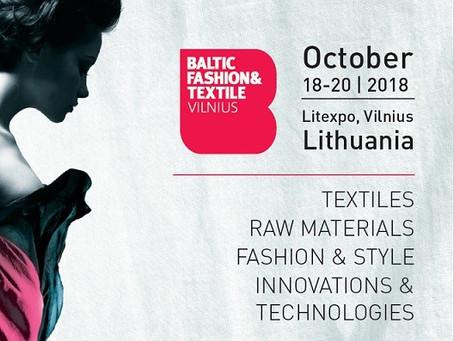 Baltic Fashion & Textile Vilnius expo