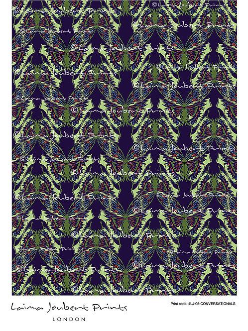 Linocut Butterfly