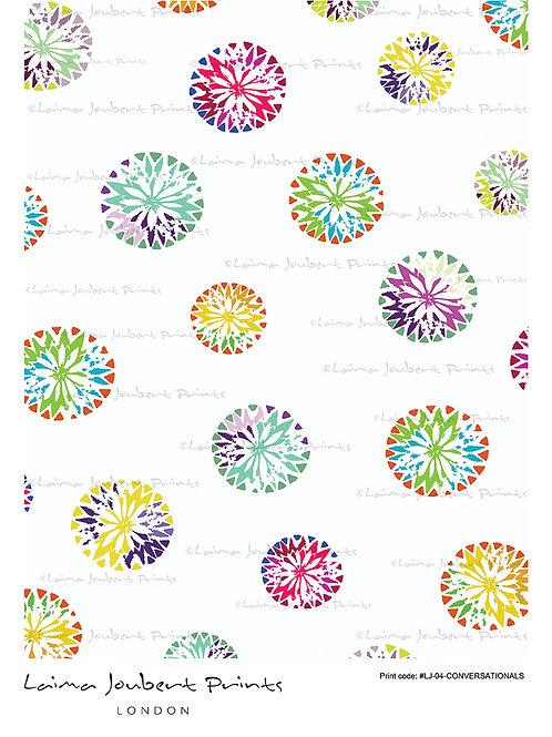 Linocut Circles