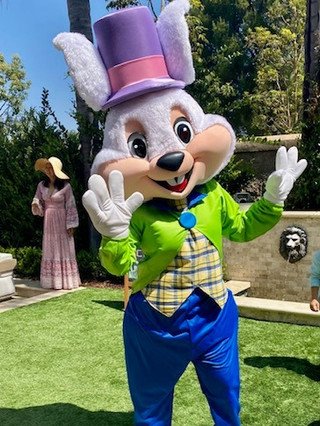 Top Hat Easter Bunny