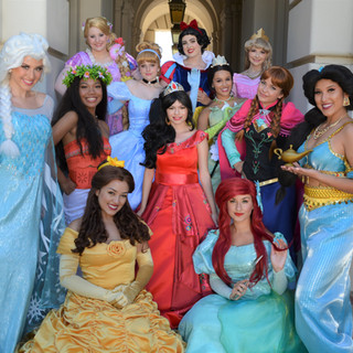 Princess Party Characters