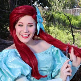 Princess Ariel Party Character