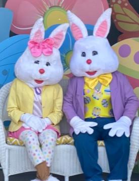 Mr. & Mrs. Easter Bunny