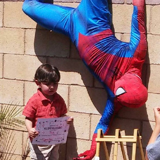 Spiderman Party Inland Empire