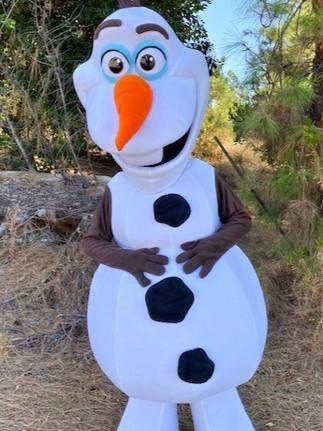 Olaf Funny Snowman