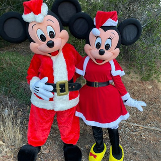 Holiday Mr. & Mrs. Mouse