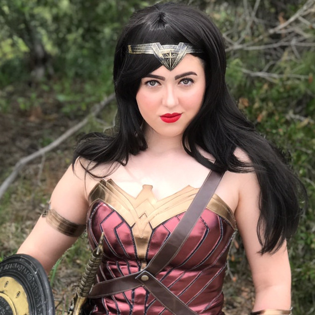 Photo of Wonder Woman Superhero Party Character