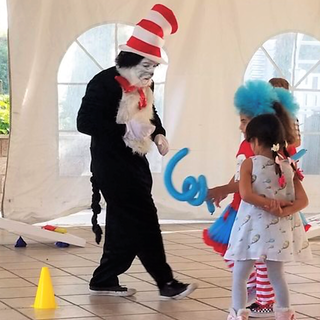 Our Cat in the Hat impersonator