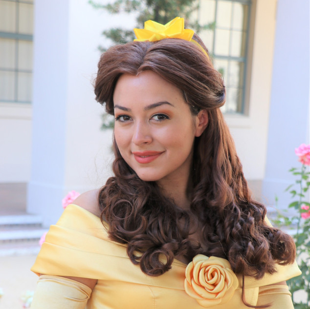 Princess Belle Party Character