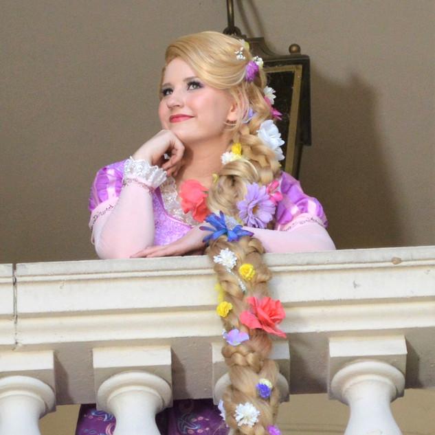 Rapunzel Party Character
