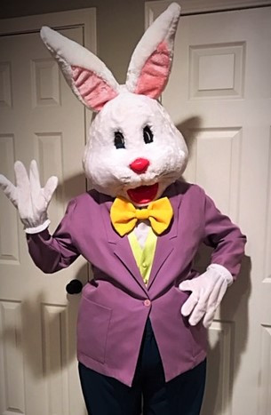 Easter Bunny Party Event Character