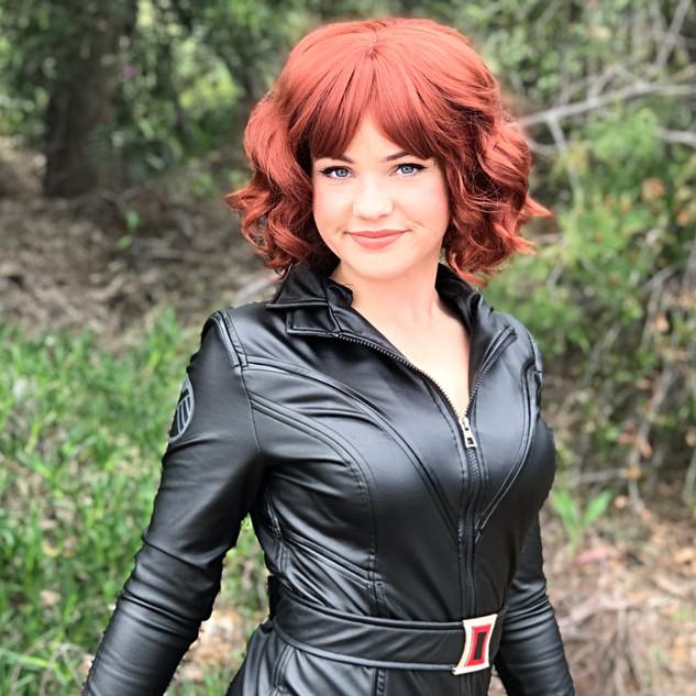 Widow Hero Black Widow Superhero Party Character