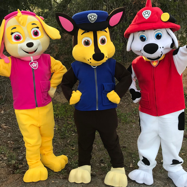 Puppy Patrol Party Characters
