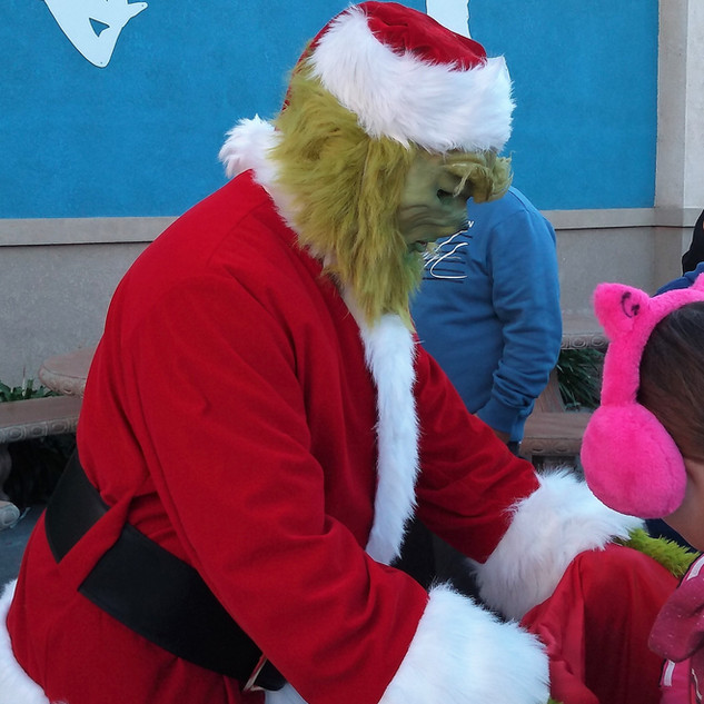 The Christmas Grinch Party Event Character