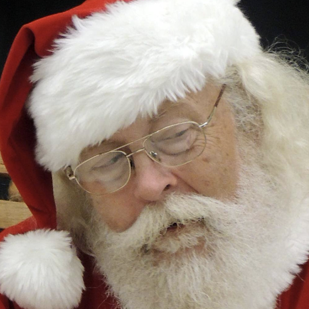 Real Bearded Santa Claus for Hire