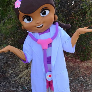 Doc Mc Stuffins Party Character