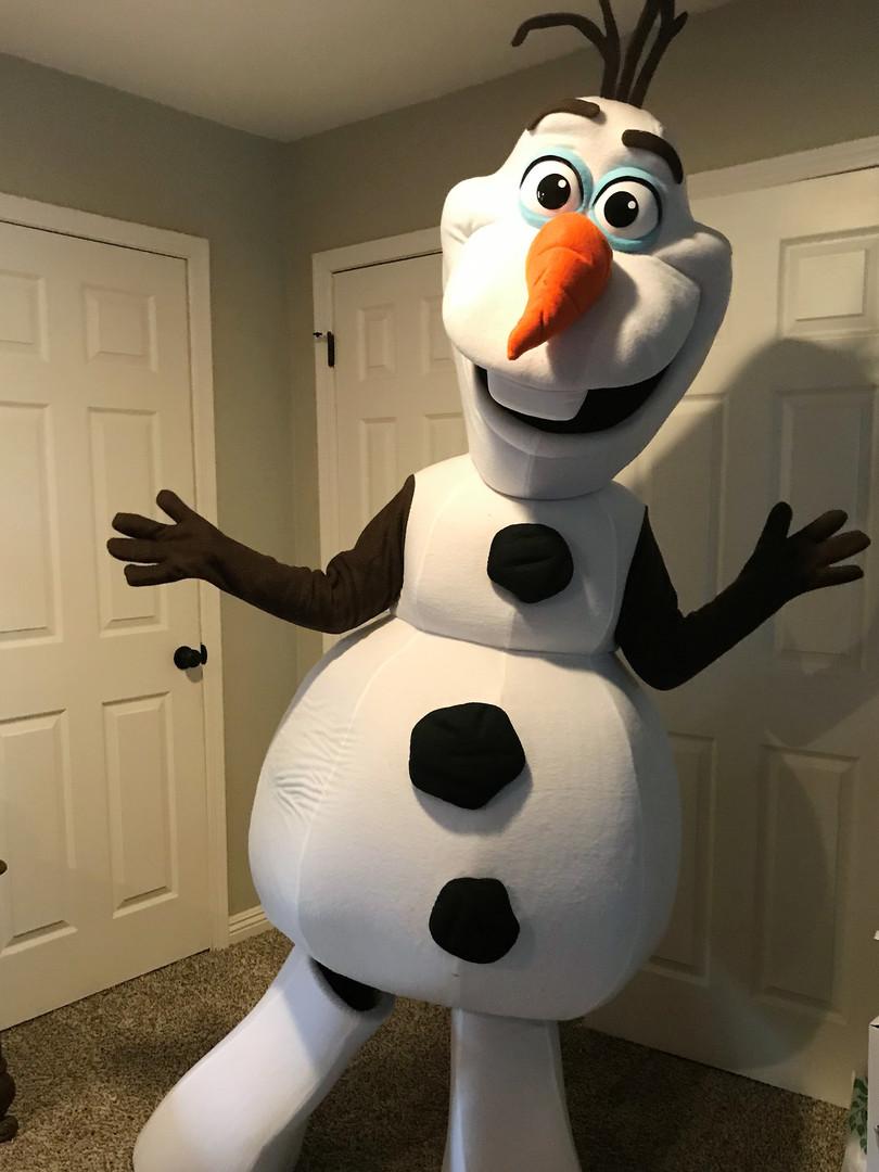 Ollie the Snowman