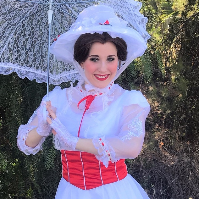 Mary Poppins Party Character