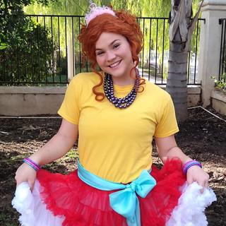 Fancy LIttle Girl Party Character