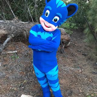Cat Pajama Boy Party Character