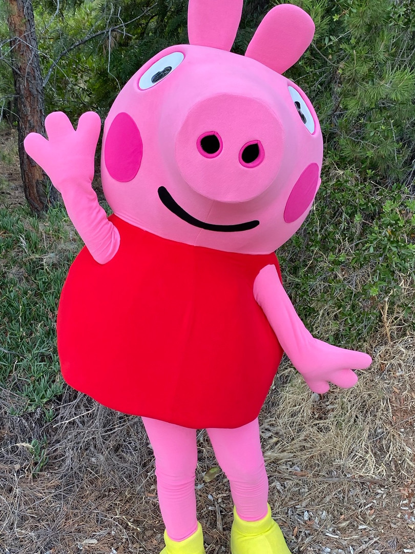 Peppy Pig Character