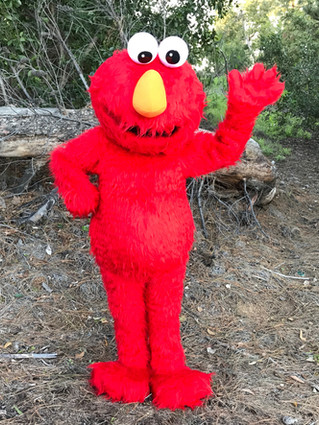 Furry Red Monster