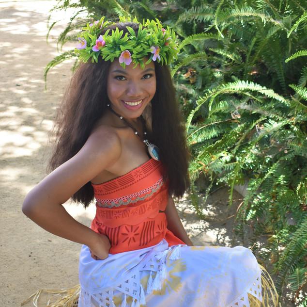 Moana Princess Party Character