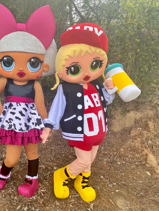 Diva & Hip Hop Baby Dolls