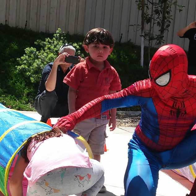 Spiderman in Action