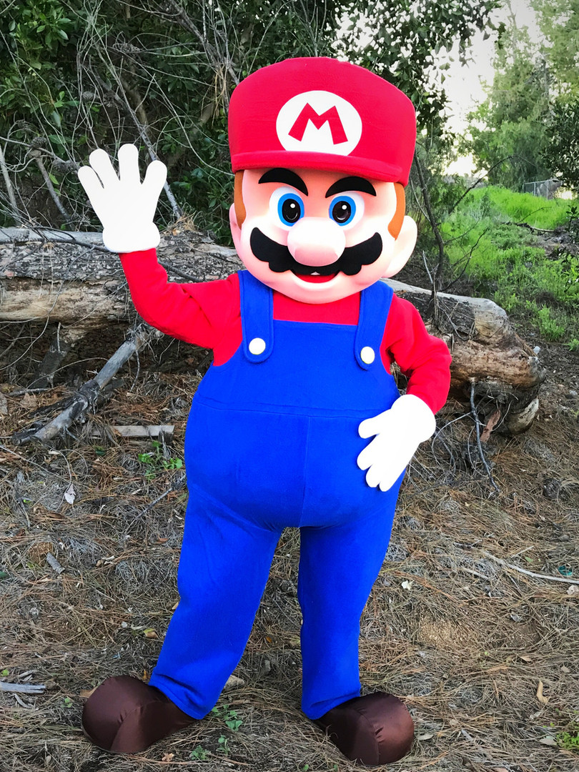 Super Mario Look-a-like Party Character