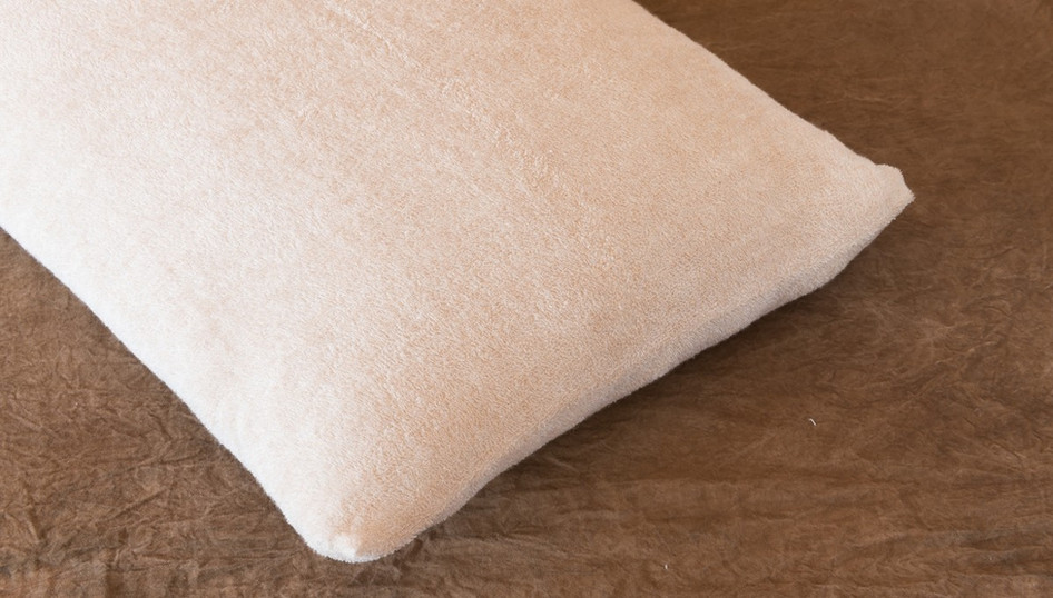 柿渋染め枕カバー