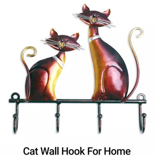 Cat Wall Hook For Home Decor.