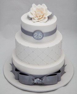 25th-wedding-anniversary-cakes
