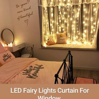 LED Fairy Lights Curtain For Window.