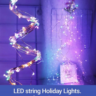 LED String Holiday Lights.