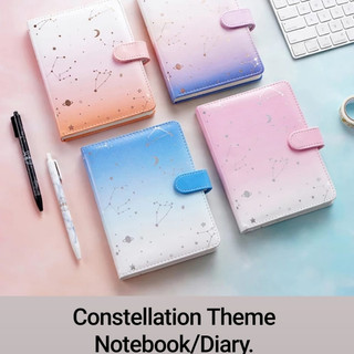 Constellation Theme Notebook/Diary.