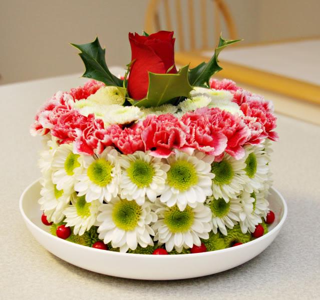 beautiful-flower-birthday-cake
