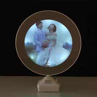Luminous Glowing Mirror Magical Photo Frame.