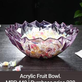 Acrylic Fruit Bowl.