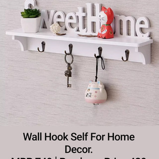 Wall Hook Self For Home Decor.