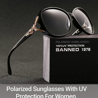Polarized Sunglasses With UV Protection For Women.