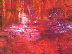 rote Landschaft