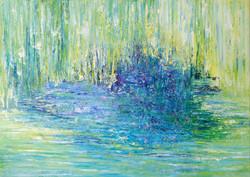 Grüße an Monet  Öl   1m x 1,40m