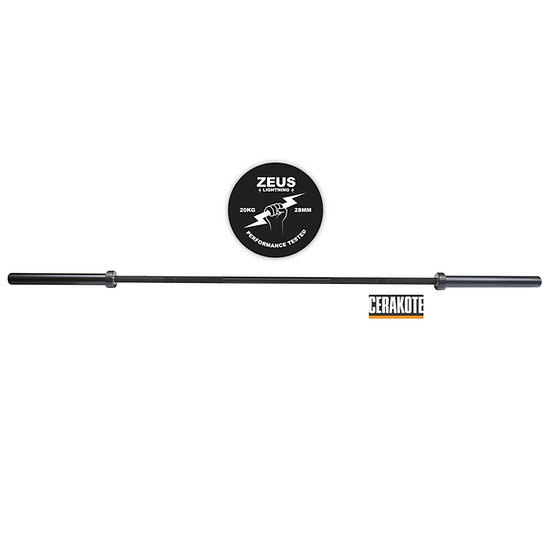 Zeus Lightning Barbell - 20kg - Cerakote