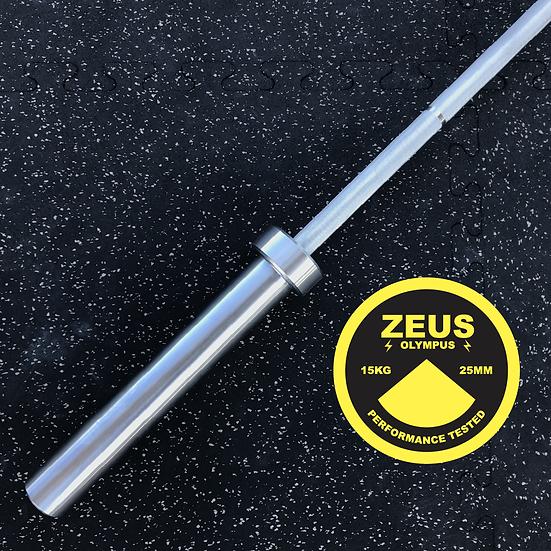 Zeus Olympus Weightlifting Barbell - 15kg