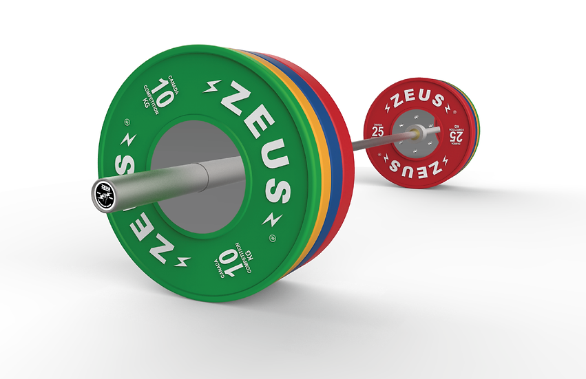Zeus Loaded Barbell Package